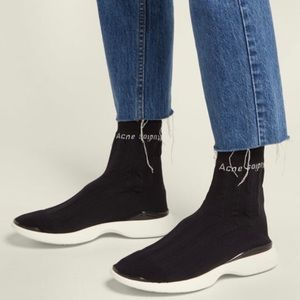 Acne Studio batilda socks trainers